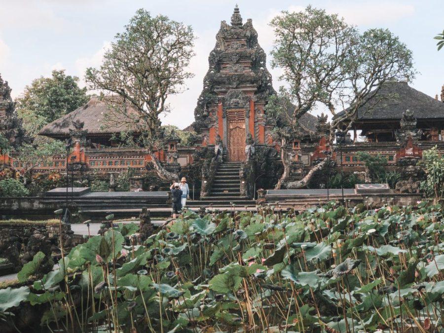 ubud water palace bali