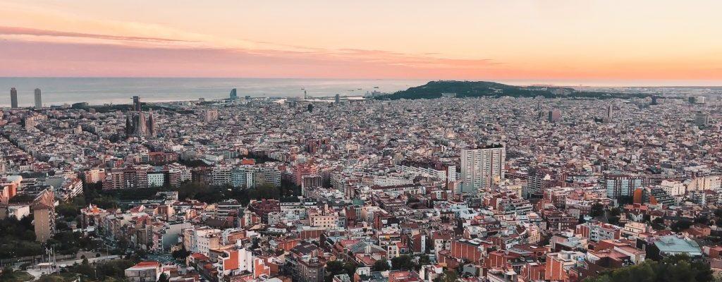 barcelona carmel bunkers sunset