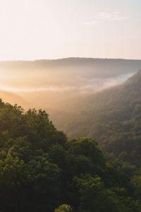 sunrise hawksbill crag arkansas