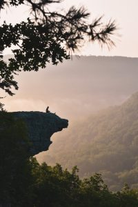 whitaker point hawksbill crag camping
