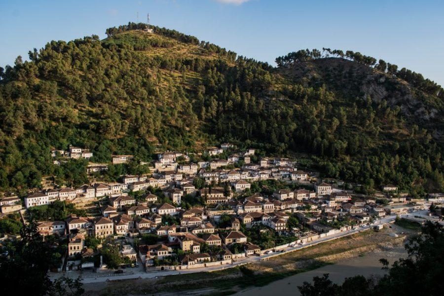 berat castle albania