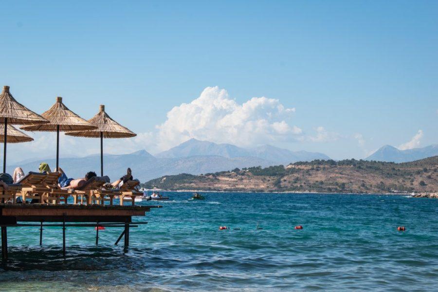 ksamil albania beach