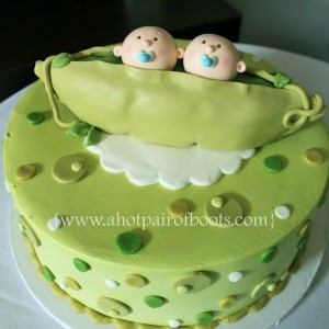 Twins Birthday Party Cakes For Twins