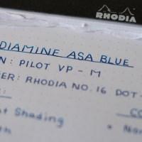 Diamine Asa Blue