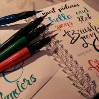 Brush peny i oszukana kaligrafia