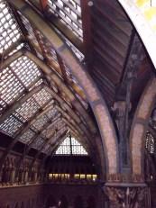 roof with giraffe head