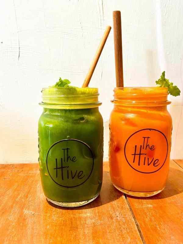 Fresh Pressed Juice at The Hive Siem Reap