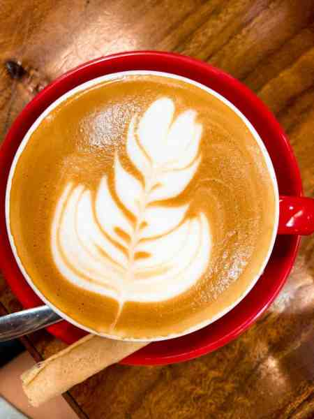 Flat White at Cafe Espresso Roastery