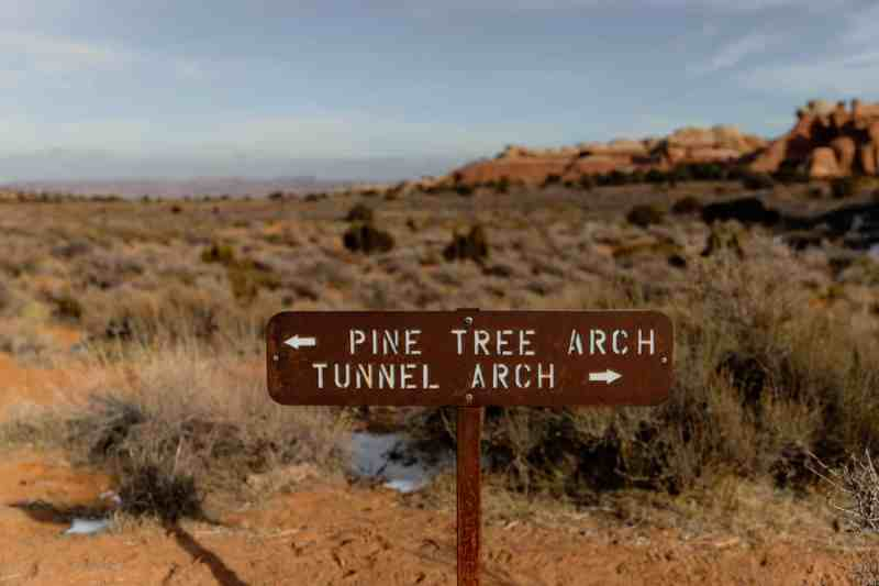 archs national park weather