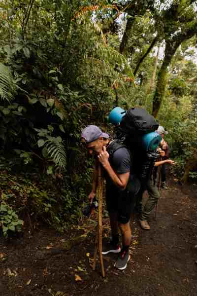 acatenango hike elevation gain