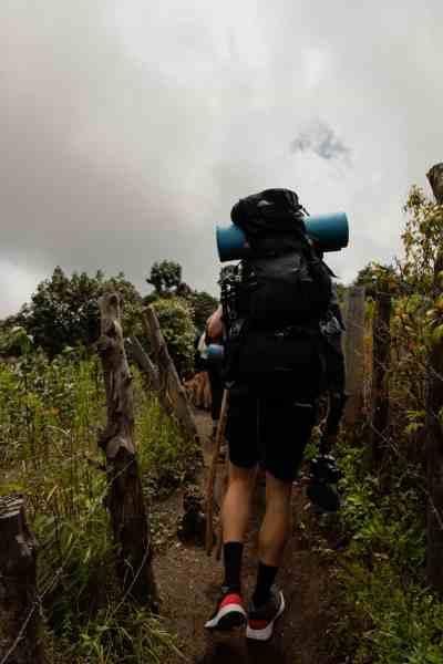 acatenango volcano hike dificulty