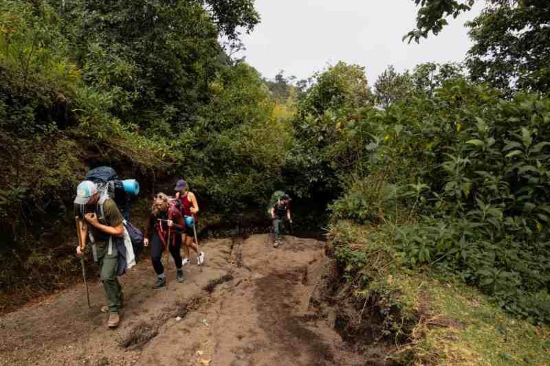 guatemala volcano hike
