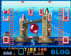 10 1 analisis super pang the past is now blog screenshot captura de pantalla arcade