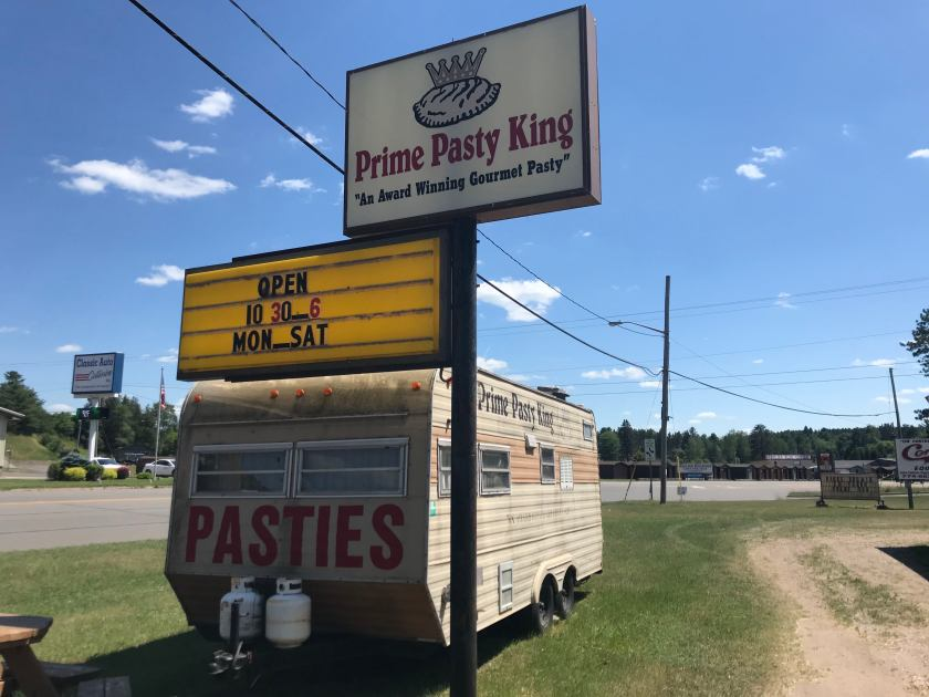 pasty, pasty review, pasties, pasty guy, prime pasty king, kingsford, pasty trail