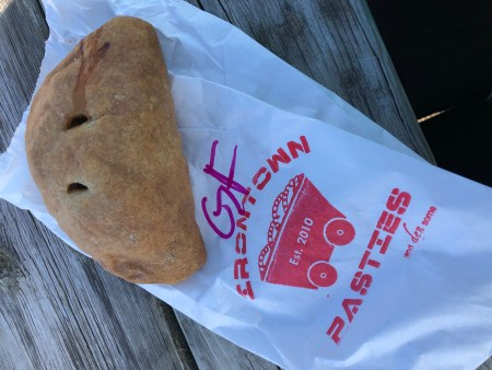 pasty, pasty review, pasties, pasty guy, irontown pasties, negaunee, pasty trail