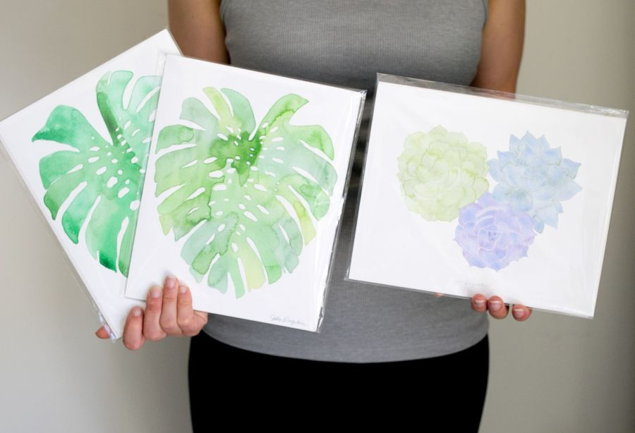 calathea collection_prints