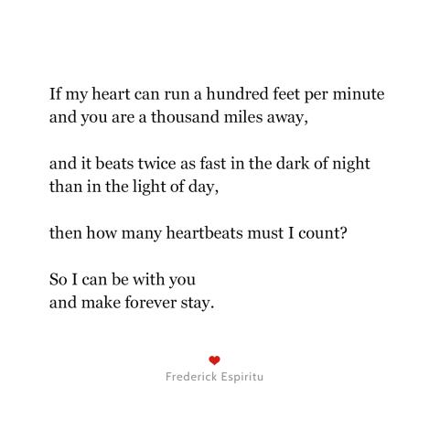 algebra love poem quotes