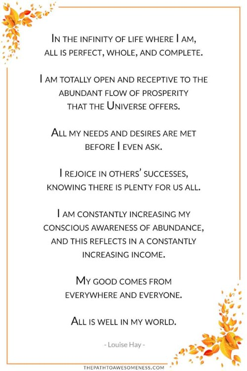 you can heal your life affirmation