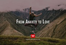 anxiety treatment from anxiety to love