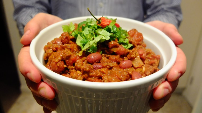 Chilli Con Carne offering.