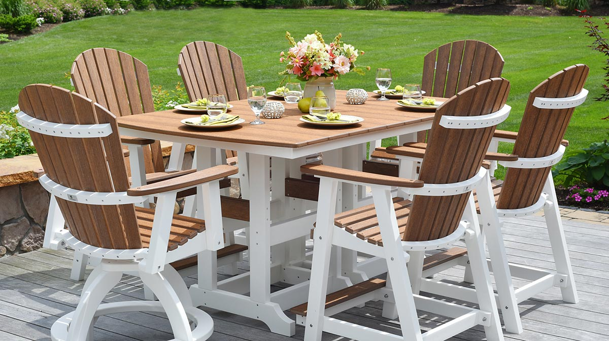 poly outdoor patio furniture patio
