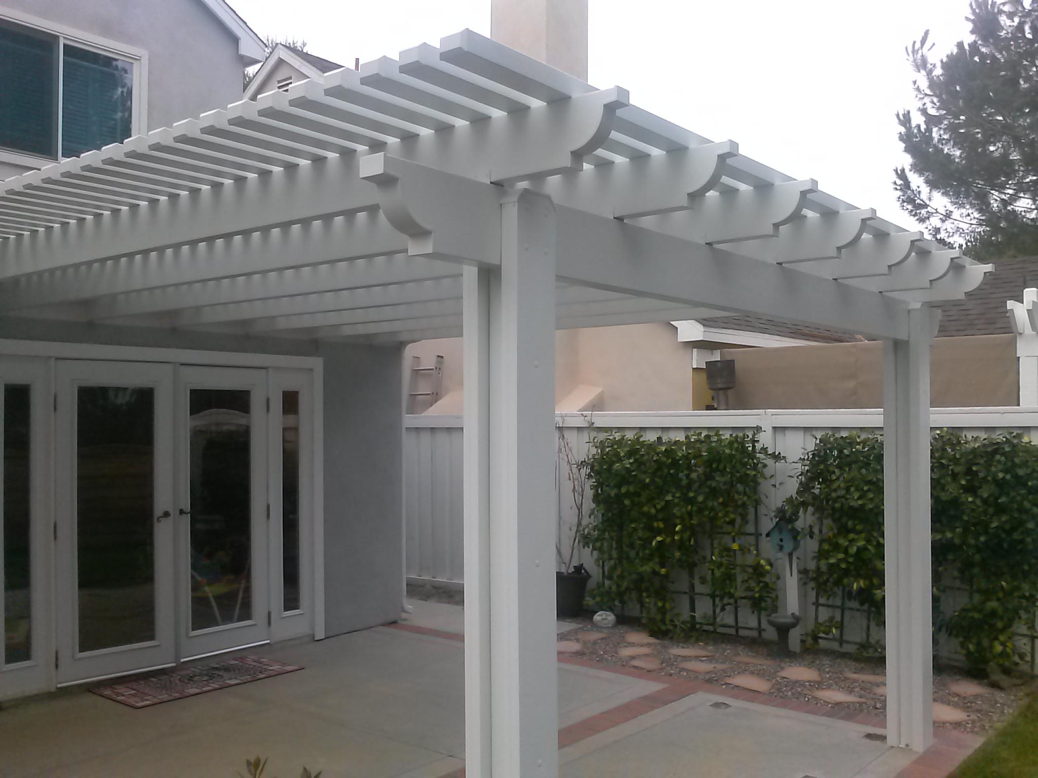 Orange County Alumawood Patio Covers vs Wood Patio Covers on Patio Cover Ideas Wood id=60982