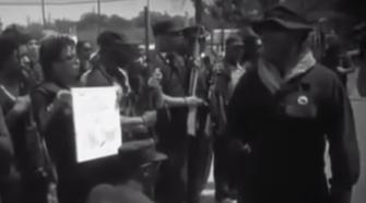Alt-Left Militia. Photo From Video