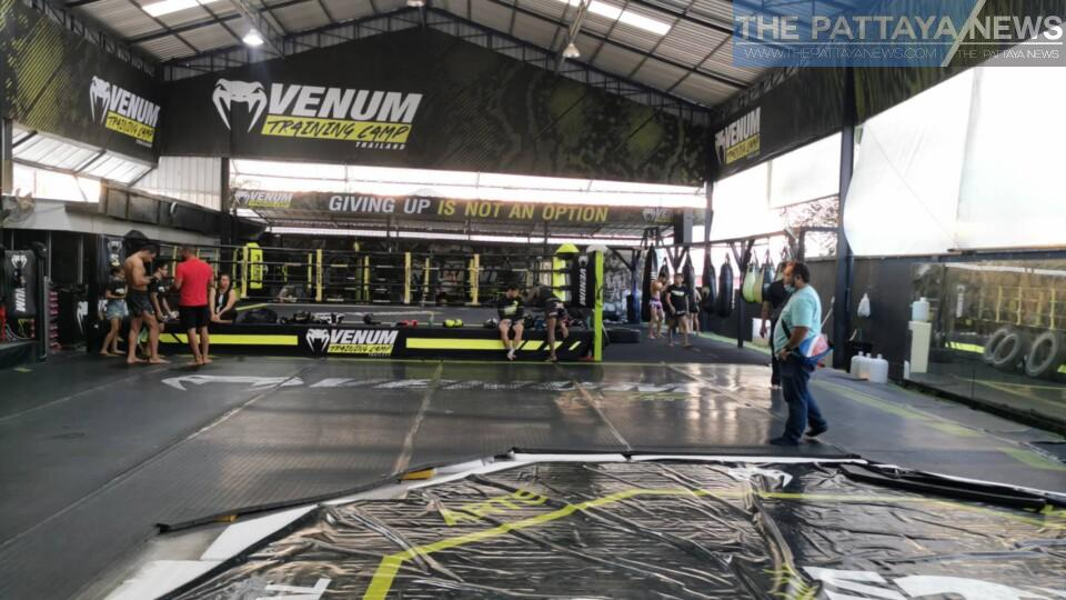 Venum Training Camp Thailand in Pattaya seeking help from Thai government over economic crisis and Covid-19 related closure - The Pattaya News