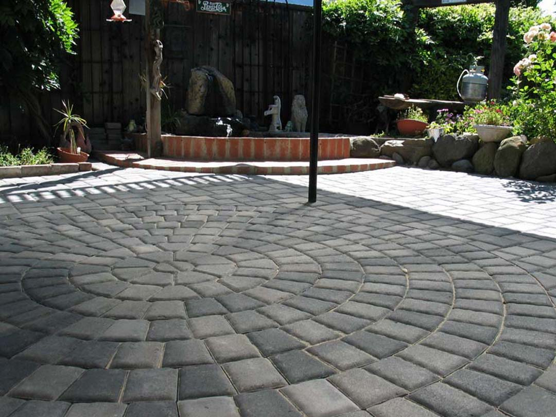 paver stone color and pattern options