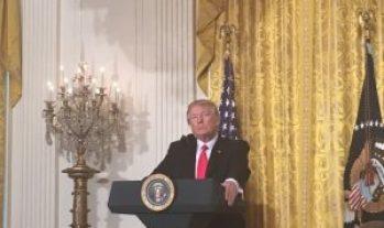press conference Trump