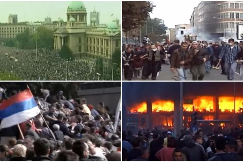 Overthrow of Slobodan Milosevic, October 5, 2000