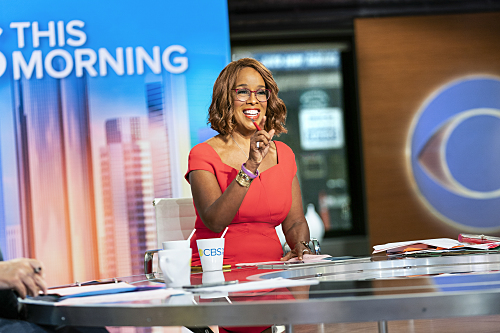 CBS THIS MORNING Co-Hosts Gayle King, Anthony Mason and Tony Dokoupil broadcast live from CBS Broadcast Center in NYC Photo: Michele Crowe/CBS ©2020CBS Broadcasting Inc. All Rights Reserved.