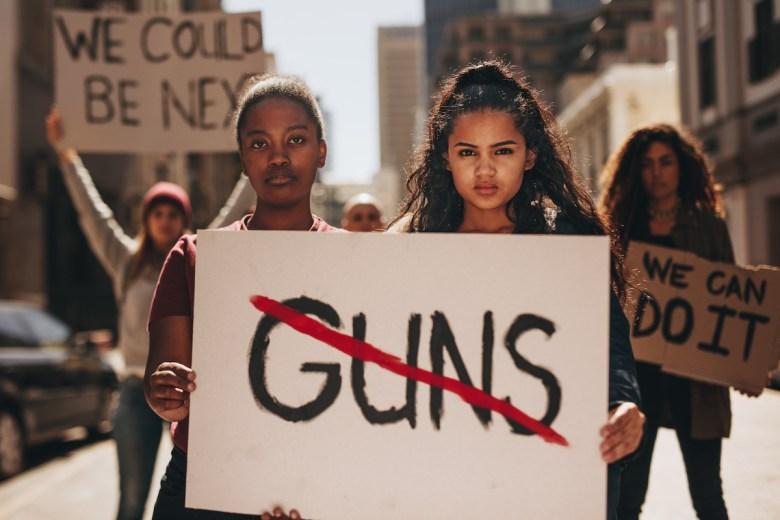 Gun control activists ( Photo: Adobe Stock)