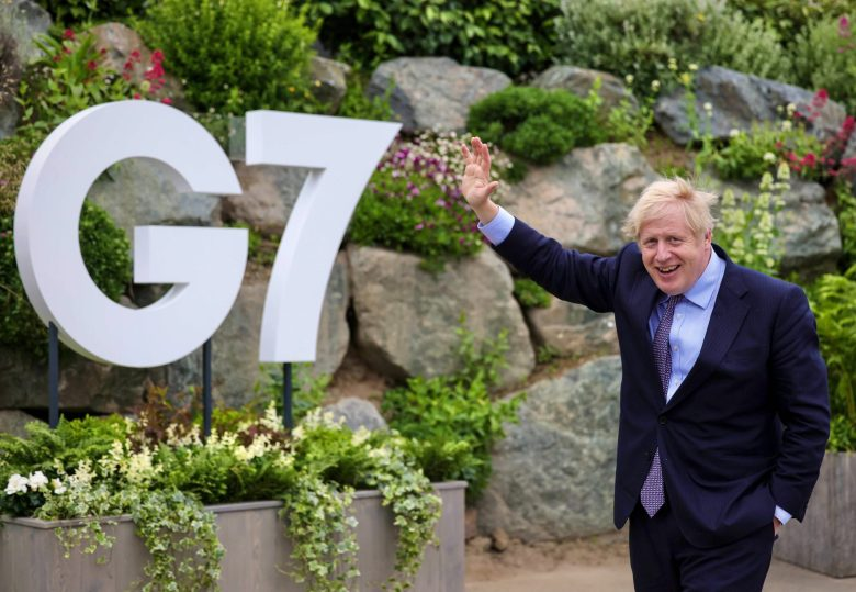 PM Boris Johnson host of G7 ( Photo credit ©No10 )