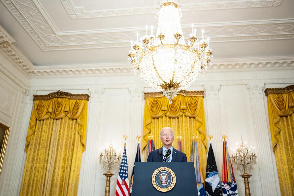 President Biden signs an executive order imposing new sanctions on Belarus.