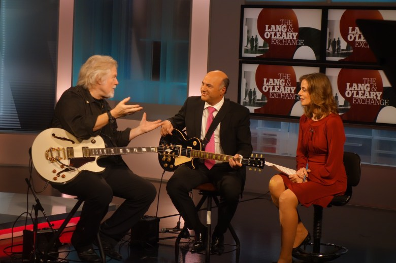 Richard Branson and Kevin O'Leary