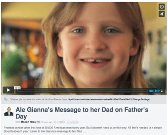 Ale Gianna's Father's Day Message to her Dad