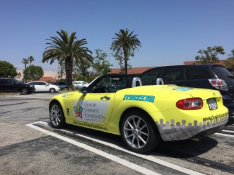 Cancer Journeys Foundation Mazda Miata