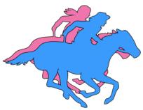 PCAP Pony Express Riders logo