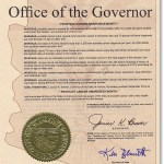 State of Arizona, Prostate Cancer Awareness Proclamation