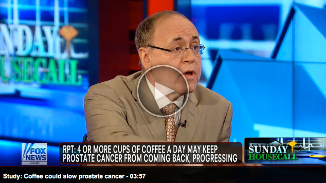 Dr. Samadi discusses prostate cancer recurrence on Fox New Housecall