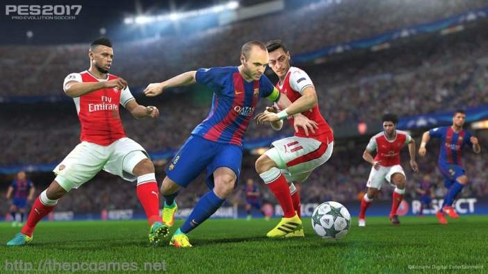 PRO EVOLUTION SOCCER 2017 PC Game Full Version Free Download
