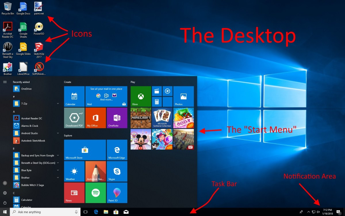 How to Organise Your Desktop