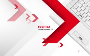 Wallpaper from a Toshiba PC