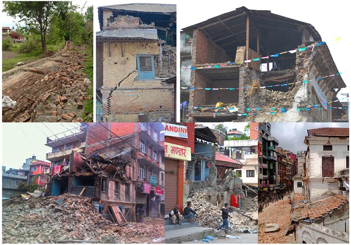 Photo 2. Damage in Kathmandu in the wake of the April 2015 Nepal Earthquake