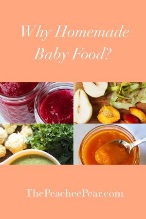 Getting ready to start introducing solids to you baby? Ready this post in regards to why homemade baby food and purees could be the best option.