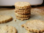 Olive & Lemon Savoury Snack Crackers (Dairyfree, Eggfree & Vegan)