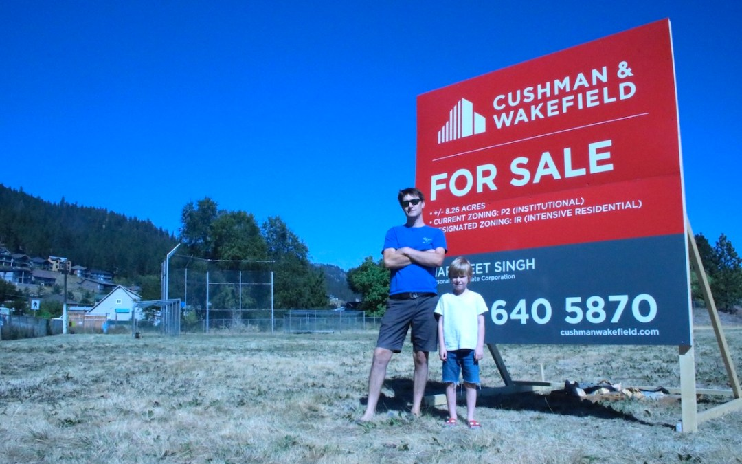 """Get Peachland's park back"": Petition started as For Sale signs go up at Turner property"