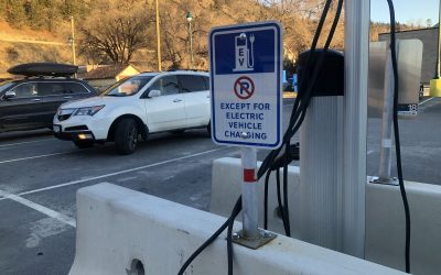 Councillor questions why District pays for EV users to plug in downtown
