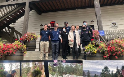 Hainles hosts a Thank You for our firefighters..